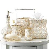 Blonder Bath Accessories, Pearly Queen Collection - Bath Accessories & Shower Curtains - Bed & Bath - Macy's