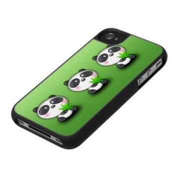Panda Parade Iphone 4 Case from Zazzle.com