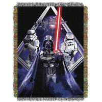 Star Wars Midnight Vader  Woven Tapestry Throw (48inx60in)
