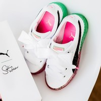 Puma x Sophia Webster Jelly Transparent Fruit Watermelon Sneaker