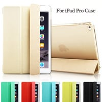 """Fashion Ultra Slim Magnetic Front Smart Case Skin + Hard PC Back Cover For New iPad Pro 12.9"""" 9.7"""""""