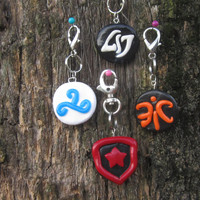 League of Legends Inspired: Pro Team Keychains