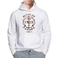 Mayday Parade Floral Hoodie -tr3 Hoodies for Man and Woman