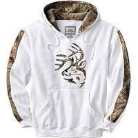 Whitetails Men's Realtree Camo Outfitter Hoodie