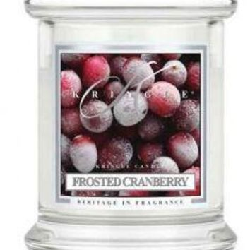 4.5 oz Small Classic Tumbler: Frosted Cranberry