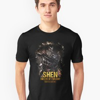 """League of Legends SHE - The EYE of Twilight"" Men's Premium T-Shirt by Naumovski 