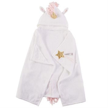 Hooded Mermaid & Unicorn Towels