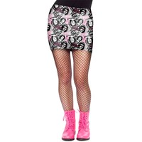 Sex Pistols Women's  No Fun Skirt White