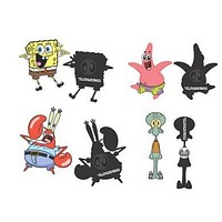 SpongeBob Square Pants Character Pins