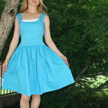 Vintage Handmade 50s Sun Dress 0 2 XS by RubyChicBoutique on Etsy