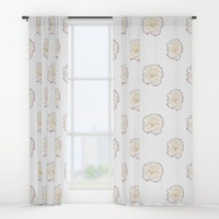 Pale Rose Window Curtains by drawingsbylam