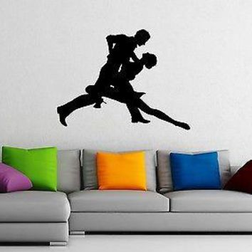 Wall Stickers Vinyl Decal Dance Passion Tango Unique Gift z1055