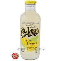 Calypso Natural Lemonade 20oz Glass Bottle