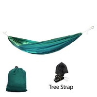 Yes4All CJ1D Ultra Light Hammocks with Tree Strap, Army Green