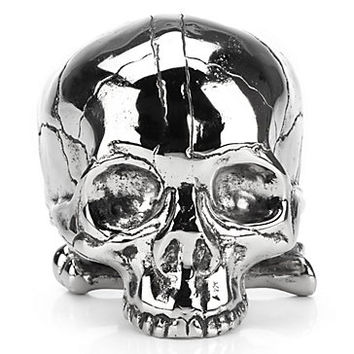 Nickel Skull | Objects of Art | Decorative Accessories | Home Accents | Decor | Z Gallerie