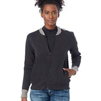 Alternative - Ladies' Squad Vintage French Terry Bomber Jacket