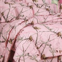 Realtree© Pink Camo Sheet Set on Sale | Realtree.com