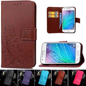 Retro Wallet Leather Flip Phone Cases For Samsung Galaxy J1 2016 Cover Capa Coque For Samsung Galaxy J1 J 1 6 J1 Mini Case Funda