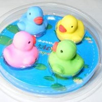 itsybitsyrobot | 38851 Four Rubber Duckie Erasers