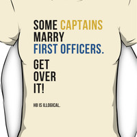 some captains marry first officers Women's T-Shirt