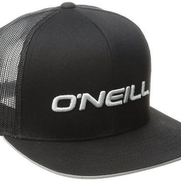 O'Neill Men's Challenged Trucker Hat, Black, One Size
