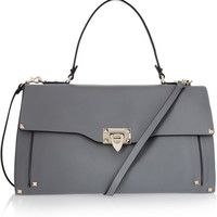 Valentino | Studded leather tote | NET-A-PORTER.COM