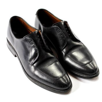 Allen Edmonds Allen Edmonds Delray Black Leather Oxford Split Toe Menswear Shoes Made In Usa Mens 8 1/2 8.5 Size 8.5 $100