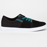 Supra Stacks Ii Mens Shoes Black/Pacific/White  In Sizes