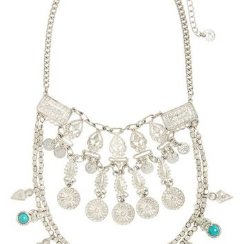 BP. Stone & Coin Statement Necklace | Nordstrom