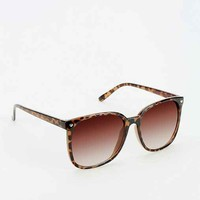 Betsey Johnson Fade Out Crystal Sunglasses- Brown One