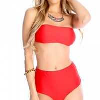Red Swimsuits