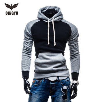 2017 New brand Men Hoody Sweatshirts Hip Hop Fashion Slim Hoodies Men Hooded Cloak Sudaderas Hombre Casual Hoodie Sweatshirts