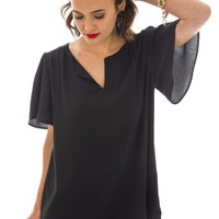 Marissa Tunic, Black