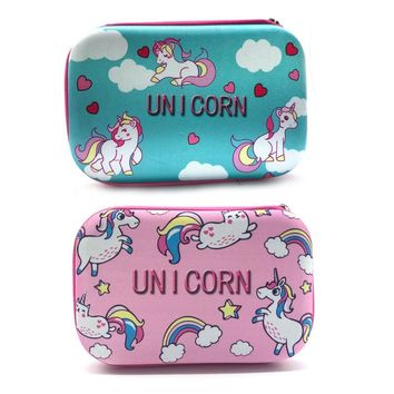 Pencil Case Estojo EVA Papelaria Etui Kalem Kutusu School Trousse Scolaire Stylo Cute Pencilcase Kawaii Pen Unicorn Estuches Box