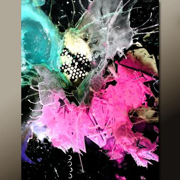 11x14 Abstract Art Print Contemporary Modern Wall Art Prints by Destiny Womack - dWo - The Beauty of Chaos
