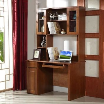 Furniture modern Simple Solid wood Computer Desk Office home