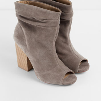 Chinese Laundry Break Up Peep Toe Booties from TOBI  4feaa6c24