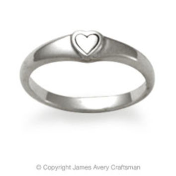 Child's Cherished Heart Ring from James Avery