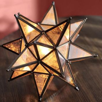 Moravian Star Accent Lamp From Pottery Barn Let There Be