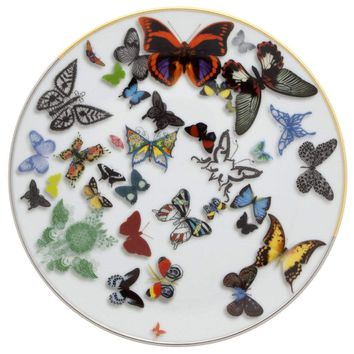 Christian Lacroix Butterfly Parade Dessert Plate
