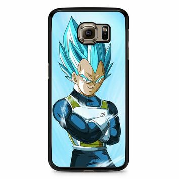 Dragon Ball Super Vegeta Samsung Galaxy S6 Case