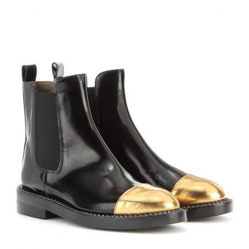 marni - leather ankle boots