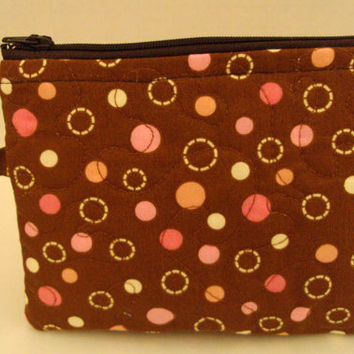 Wristlet Tote Tech Device Quilted Travel Organizer Bag Purse Storage Cosmetics Pouch Padded
