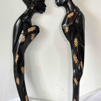 African Art, Authentic African Art, Hand Carved Wood, African American Art, Afrocentric Art, Contemporary Art, Black Art