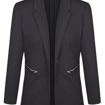 Women's Plus Size Work Suit Blazer