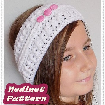 Shop Crochet Headband Pattern On Wanelo