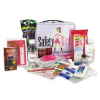 Safety Girl SFTGIRL1000016261 26 Piece Deluxe Roadside Emergency Kit
