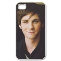 Logan Lerman Hard Plastic Back Cover Case for iphone 4 4s