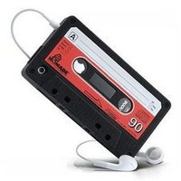 Apple iPhone4S 4G Retro Cassette Tape protective Case Cover - GULLEITRUSTMART.COM