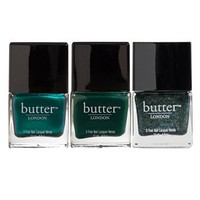 butter™ LONDON 'Emerald Crush' Nail Lacquer Trio (Nordstrom Exclusive) | Nordstrom